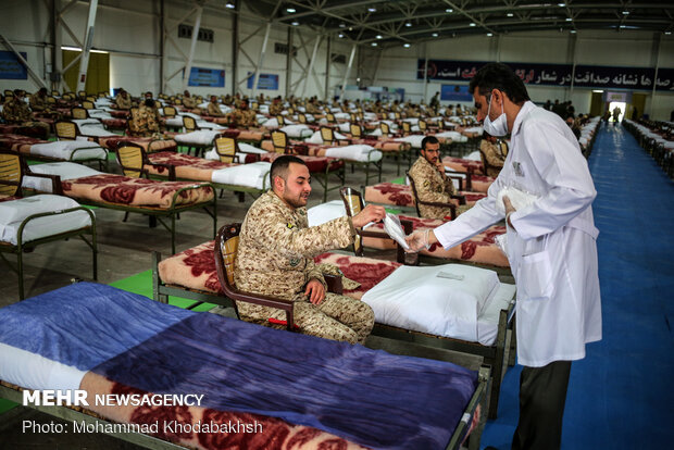 Army Ground Force's blood donation