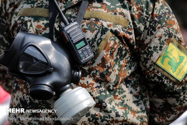 رزمایش قرارگاه پدافند زیست محیطی لشگر عملیاتی محمد رسول الله (ص)