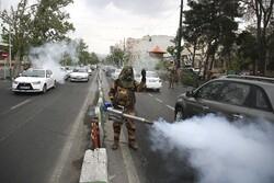 تہران میں یوم فوج کی مناسبت سے خدمت پریڈ کا انعقاد