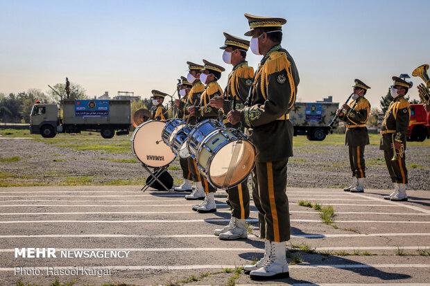 مراسم رژه خدمت در مشهد