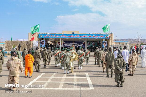 «رژه خدمت» نیروهای ارتش در تبریز
