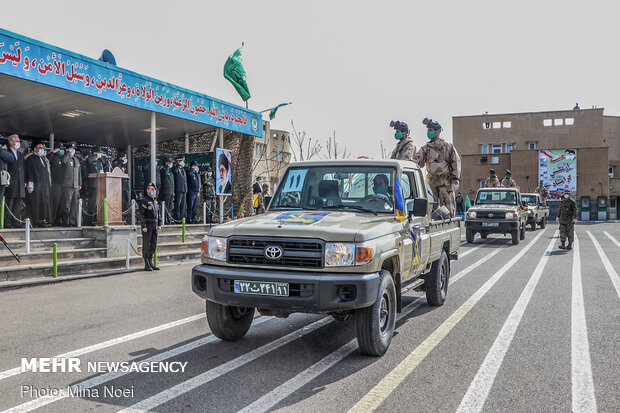 Iranian Army's parades in provinces