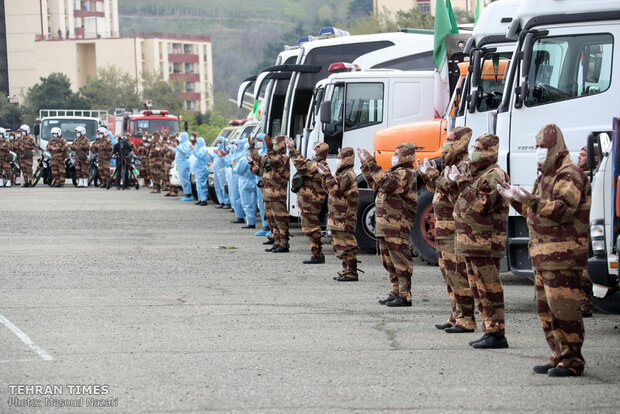 Army holds 'Service Parade' on Friday Morning