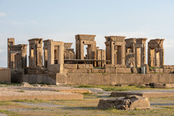 Eski İran başkenti Persepolis'ten kareler