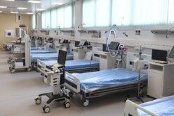 Moskova'nın yeni koronavirüs hastanesi açıldı