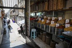 تہران کے بازار کا ایک منظر