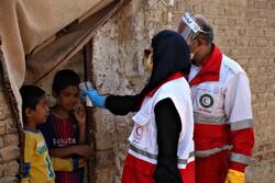 گندزدایی از اماکن عمومی توسط داوطلبان هلال احمر/ حمایت از ۱۴۰۰منطقه کم برخوردار برای مهارکرونا