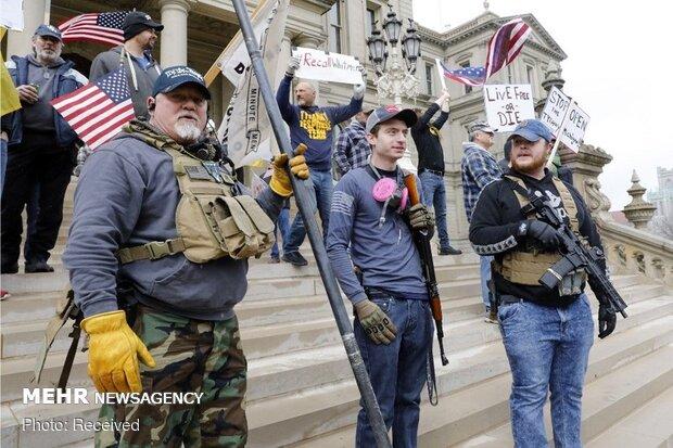 احتمال وقوع جنگ داخلی در آمریکا قوت گرفت