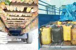 2,000 liters of smuggled fuel seized in NE Iran