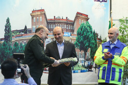 Police chief lauds medical staff of Imam Khomeini Hospital