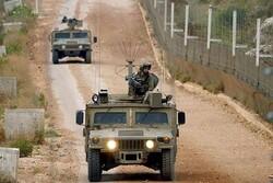 تحرکات نظامیان صهیونیست در مرز با لبنان