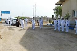 Iran's Navy cmdr. visits Pasabandar naval base