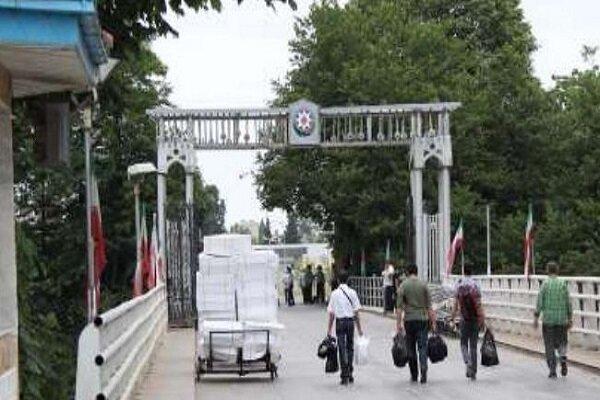 Transit ban on Iran-Azerbaijan border 'extended' amid COVID-19