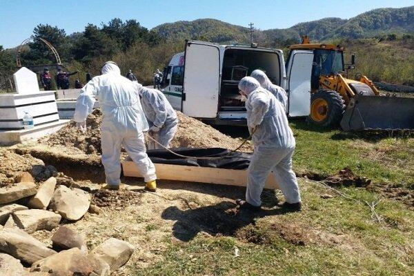 ترکی میں کورونا وائرس سے 2805 افراد ہلاک