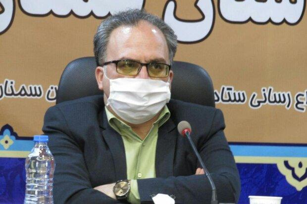 ۵۷ آتشسوزی در محدوده روستاهای استان سمنان رویداده است