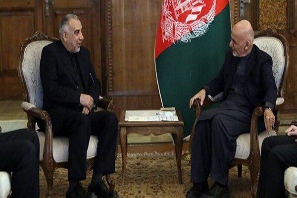 مبعوث الخارجیة الایرانیة یجری محادثات مع کبار المسؤولین فی افغانستان