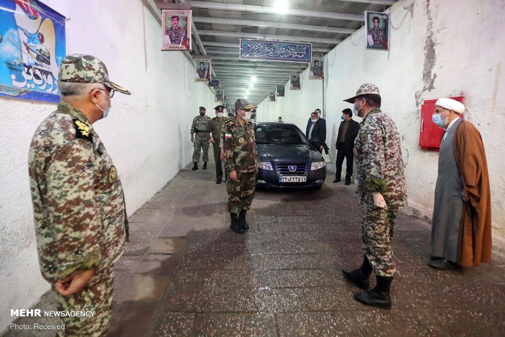 """ايران تزيح الستار عن منظومتي رادار استراتيجيتين """"خليج فارس"""" و""""مراقب"""""""