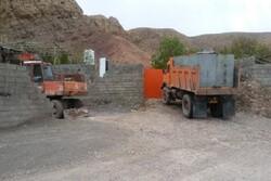 تبدیل کوه ها و مزارع کوهپایه کرمان به ویلا
