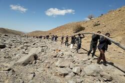 آب آشامیدنی روستای رزداب وصل شد