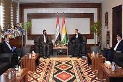 Iran, Iraqi Kurdistan Region discuss trade relations