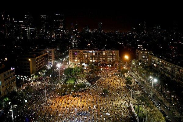 مظاهرات واسعة في الكيان المحتل ضد نتانياهو