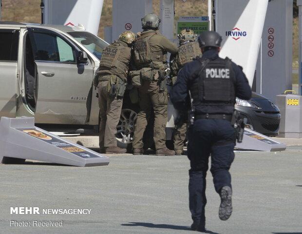 Kanada'daki silahlı saldırıdan fotoğraflar