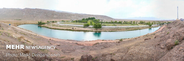 تفرجگاهیHistorical Gharbalbiz Spring in Yazd