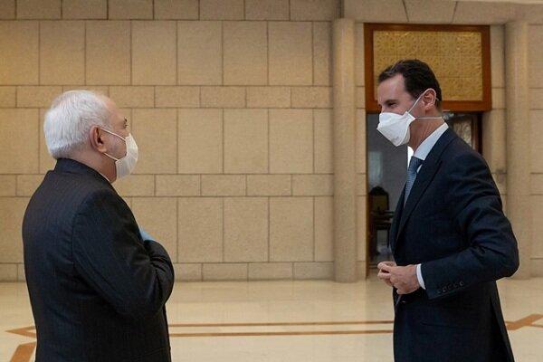 Zarif's visit to Syria in eye of world media