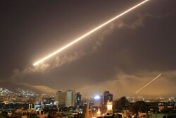 VIDEO: Syrian air defense repels Israeli regime's airstrike