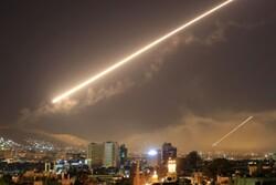 Suriye ordusu Siyonist Rejim'in füzeli saldırısına karşı koydu