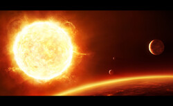 کشف منظومه ای با ۶ سیاره که با ریتمی هماهنگ مدار می زنند