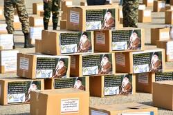 اهدای ۳۴ بسته معیشتی به جامعه هدف بهزیستی فارس