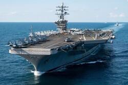 امریکی بحری کشتی اور ایرانی کشتیوں کا آمنا سامنا