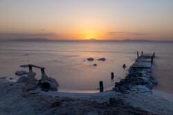 Lake Urmia water level reaches 3.35 billion cubic meters