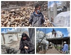 غبار فراموشی بر تن مناطق زلزله زده آذربایجان شرقی/ سرما و کرونا کار بازسازی را زمین گیر کرد