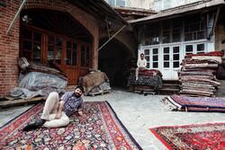 سکون در بازار فرش همدان