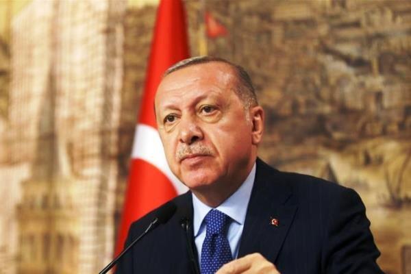 اردوغان يبحث عن تحسین العلاقات مع امريكا