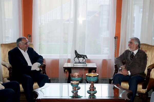Iranian envoy meets with different Afghan sides