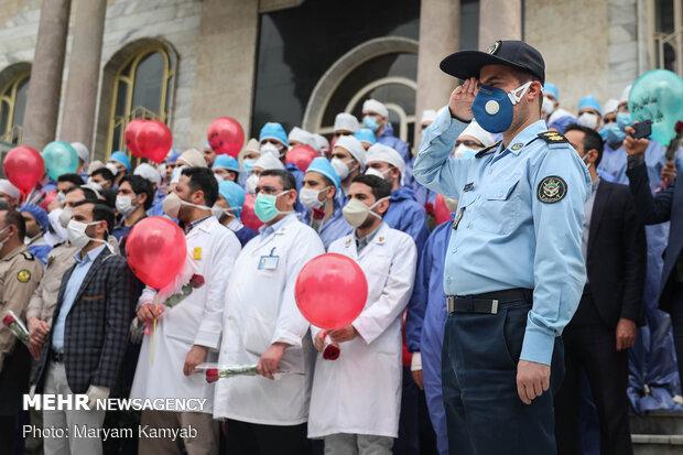 تجلیل از مدافعان سلامت