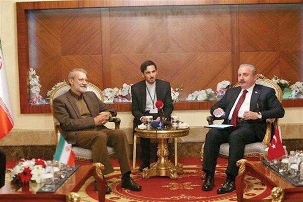Larijani congrats Turkish parl. on 100th establishment anniversary