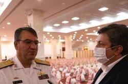 هیچ مورد مشکوک به کرونا در ناوهای ارتش در آبهای آزاد نداشته ایم