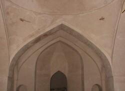 تداوم عملیات مرمتی و ساماندهی حمام تاریخی حاج فتحاله بناب