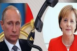 رایزنی رهبران روسیه و آلمان درباره اوکراین و تولید مشترک واکسن کرونا