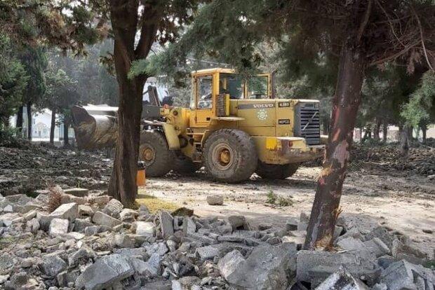 ماجرای تخریب قبور در نوشهر/ واکنشهای منفی مردم