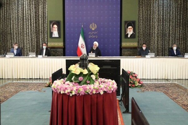 Iran to suffer less damage given its reduced reliance on crude oil: Rouhani