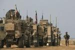انفجار در مسیر کاروان نظامی آمریکا در صلاح الدین عراق