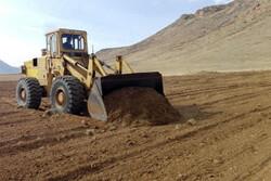 اراضی محوطه تاریخی «تپه عمارت» شازند رفع تصرف شد