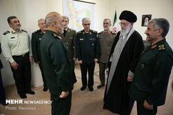 """""""We are dedicated to people, Revolution,"""": IRGC cmdr. to Leader"""