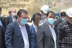 وزیر صمت از بندر پارسیان بازدید کرد