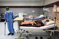 بخش ویژه کرونا بیمارستان طالقانی آبادان